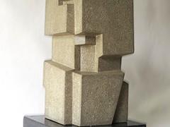 "Stonework No. 1 - 1978 Limestone 7.5"" x 7.5"" x 13.75"""