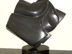 """untitled Belgian Black  (Noir Belge) limestone 17.75"""" x 5"""" x 14.75"""""""
