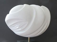 "Moonlight Carrara marble 15"" x 7"" x 11"""